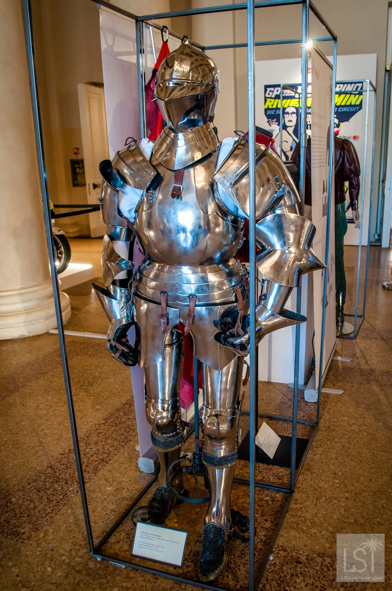 Ancient armour on show at Rimini Motor Soul exhibition