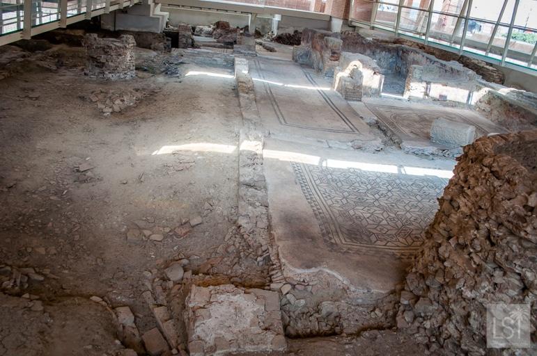 Archaeological excavation in Piazza Ferrari, Rimini