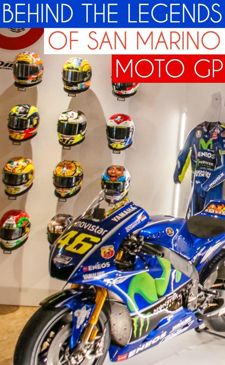 Behind the legends of San Marino Moto GP
