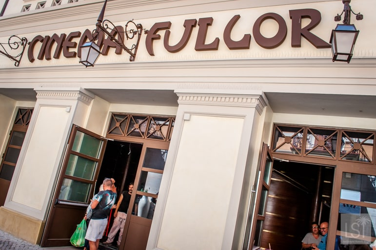 Just one of the many things to do in Rimini, visiting the Fulgor cinema