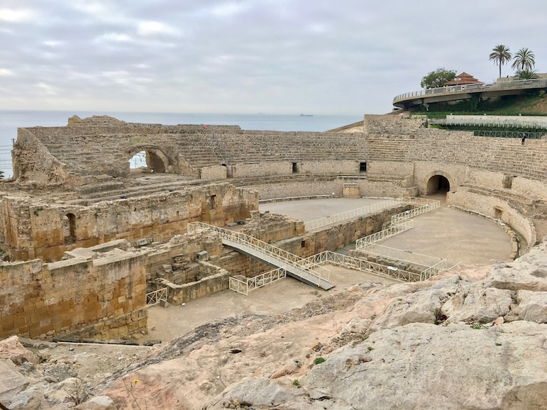 How to travel by train in Spain - Tarragona is a marvel of Roman history