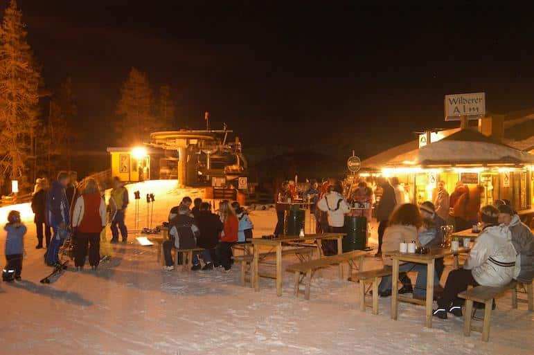 Plan your apres-ski drinks carefully | Pic: Tourismusregion Katschberg