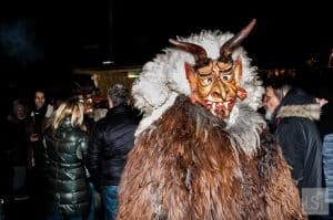 A Krampus comes to say hello, Chrismas in Austria