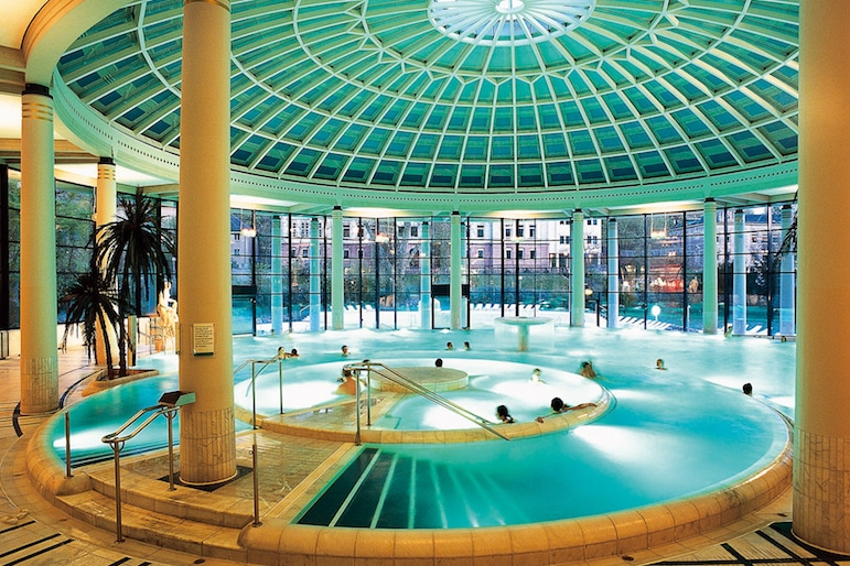 For a wellness break, visit a Baden Baden spa for a get away from it all New Year Break | pic supplied courtesy of: Baden-Baden Kur & Tourismus GmbH