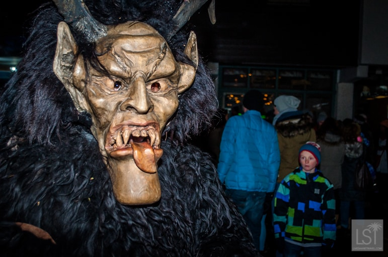 Christmas in Austria mean Krampus demons
