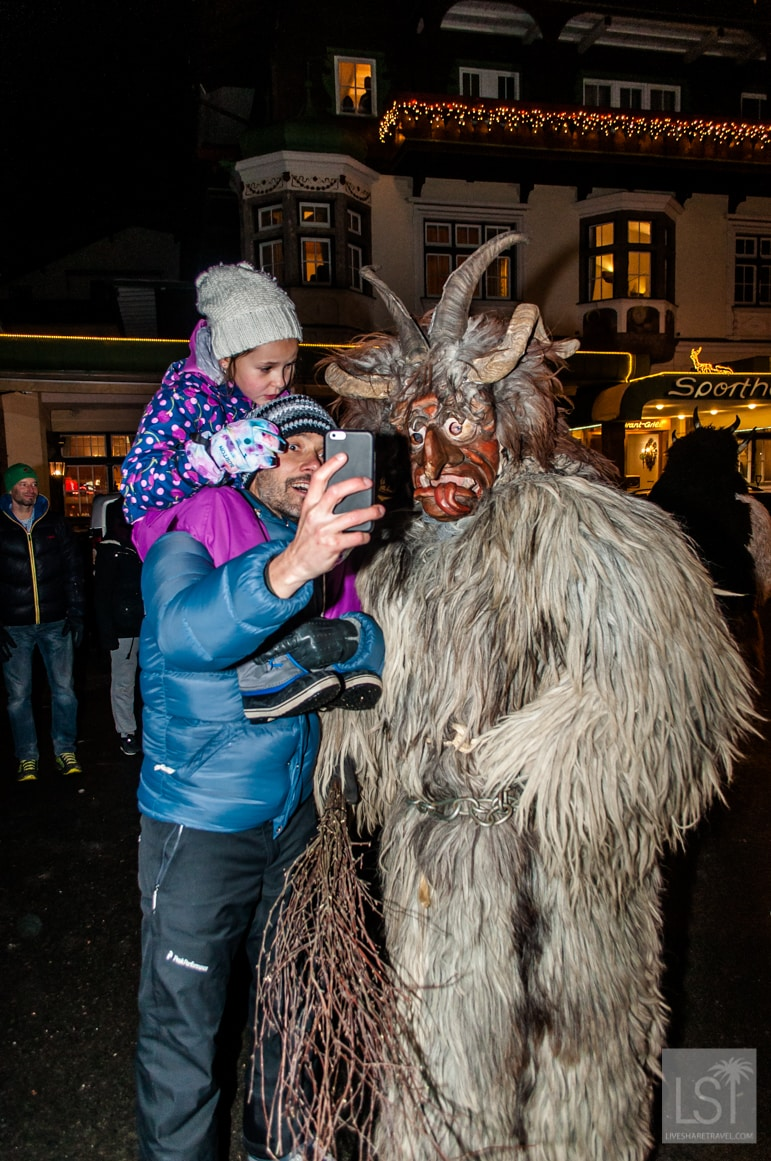 Christmas in Austria means Krampus