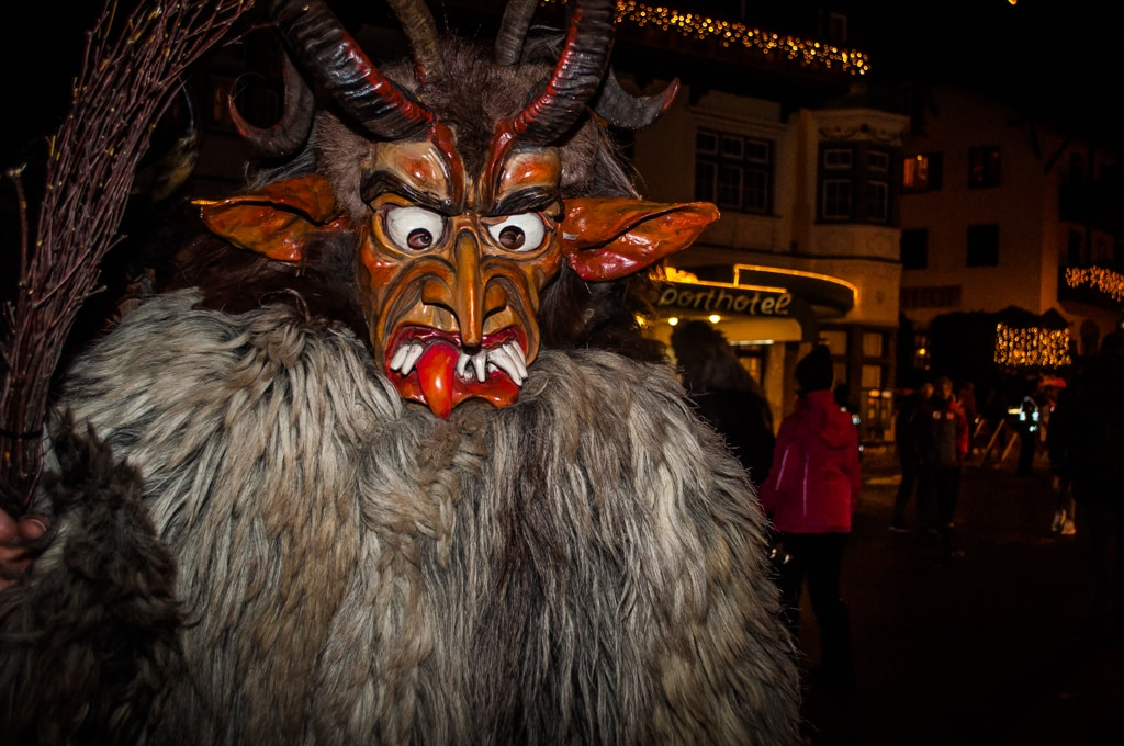 What a handsome fella, it's Christmas in Austria