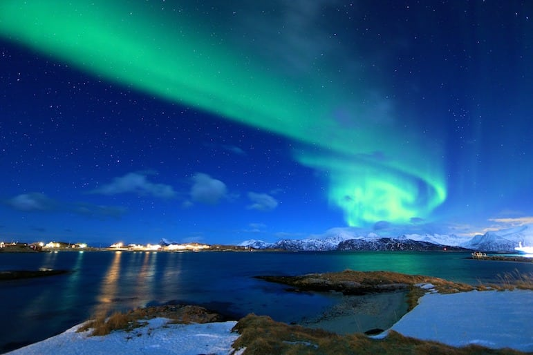Where to go next: It's believed the Northern Lights will disappear in our lifetime so now is the time to visit Norway