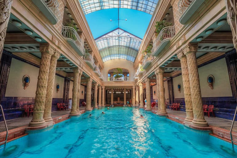 Take time out from the Budapest Christmas markets to enjoy the bath at the Gellart Hotel in Budapest | pic Ibolya