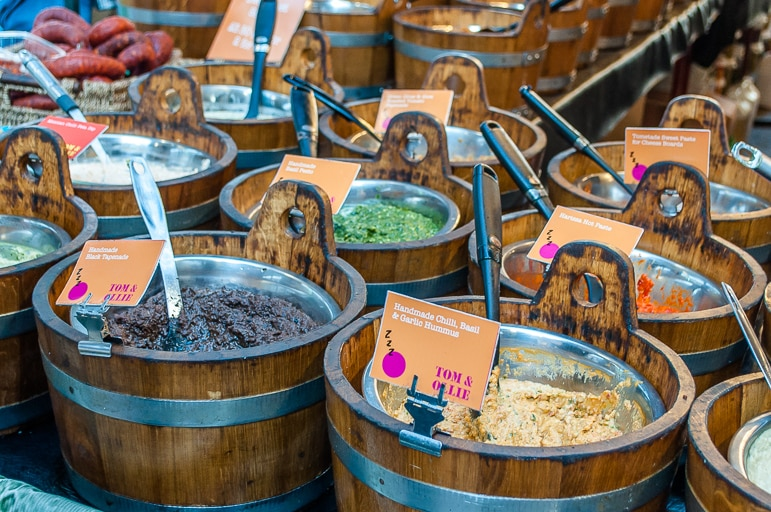 Things to do in Belfast - St George's Market has good from around the world