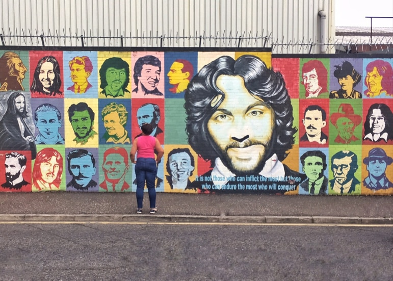 Things to do in Belfast - contemplate Belfast's history in the Falls Road
