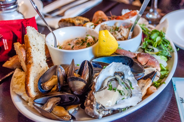 Things to do in Belfast - dine at Mourne Seafood