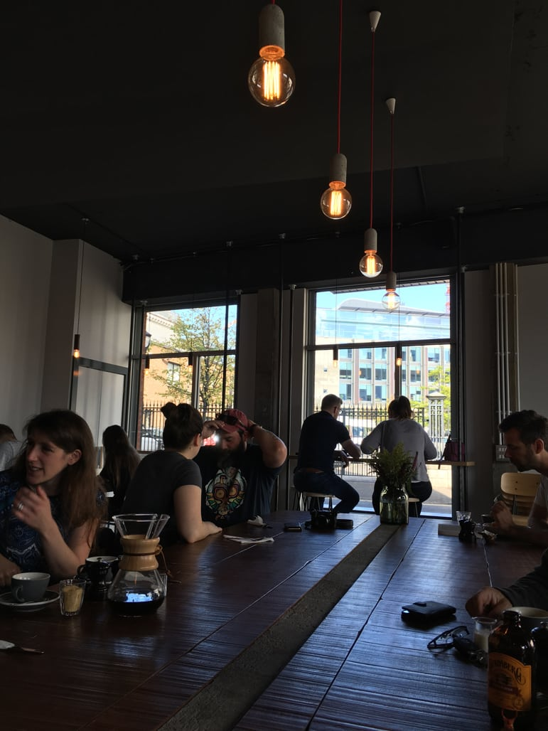 Things to do in Belfast - pause for coffee at Established
