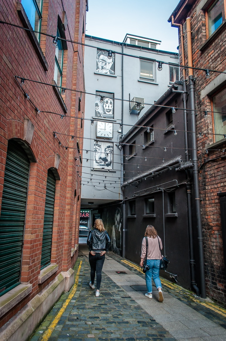 Things to do in Belfast - take a wander through the Cathedral Quarter