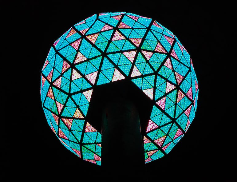 New York for New Year and watch the world famous BallDrop in Times Square New York at midnight | Pic- Michelle Callahan