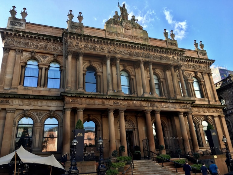 Where to stay in Belfast - consider The Merchant