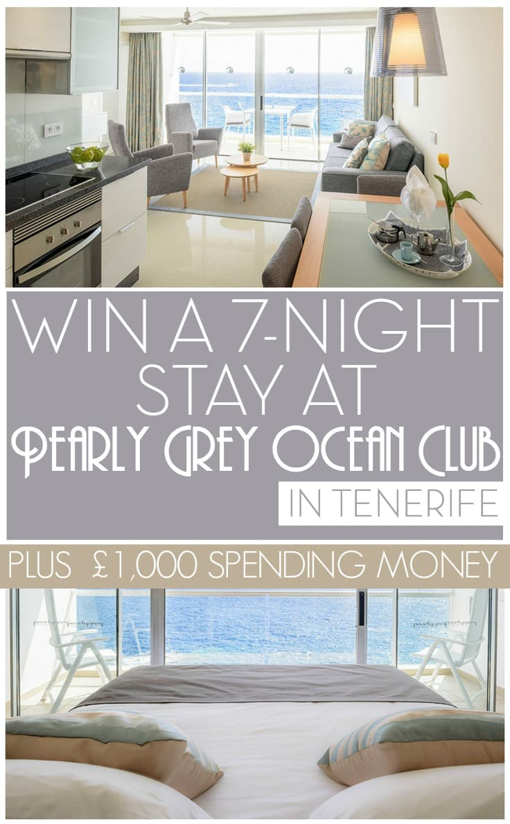 Win a seven-night stay at Pearly Grey Ocean Club