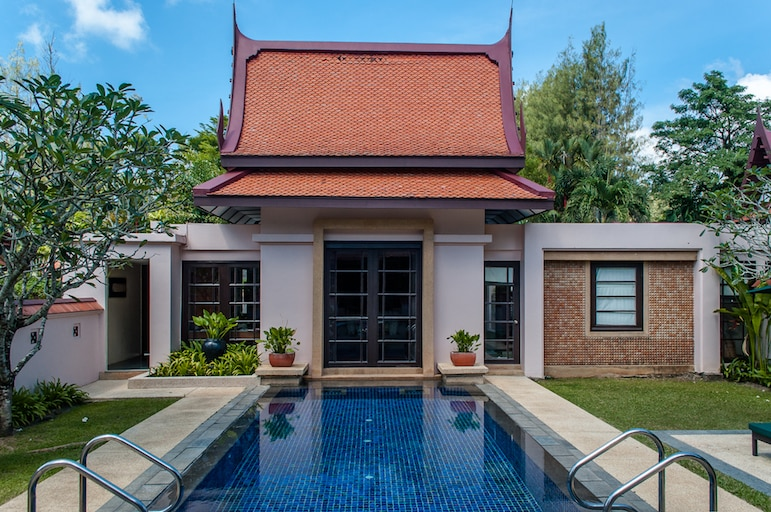 Our private pool villa at the Banyan Tree, Phuket