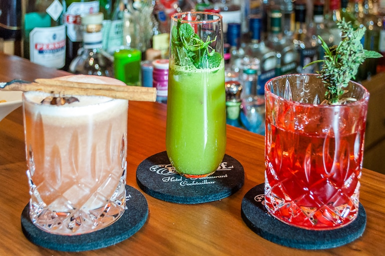 Spirits meet alpine ingredients in the Zilletal ski resort of Zell am Ziller