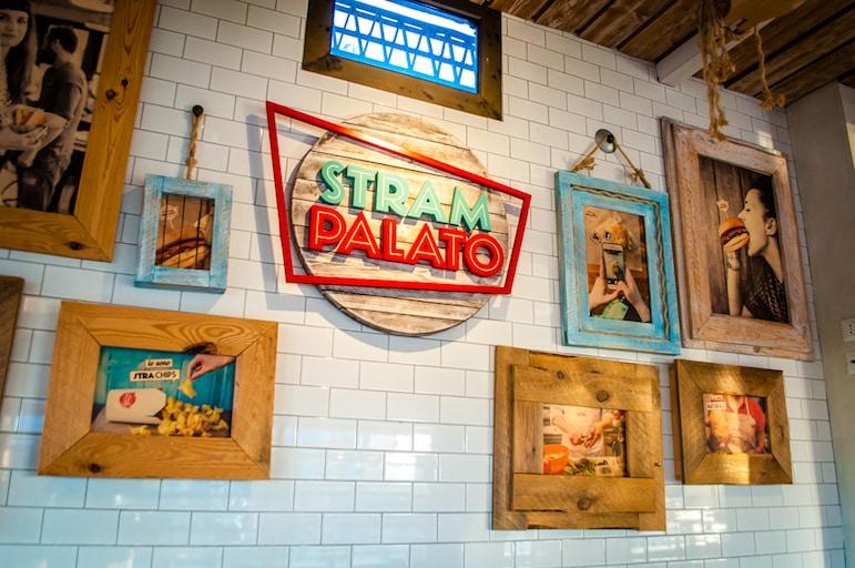 Stram Palato restaurant in Rimini