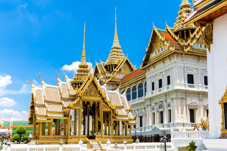The Royal Grand Palace in Bangkok - just one of the major sites to spot on your stopover flight to Australia