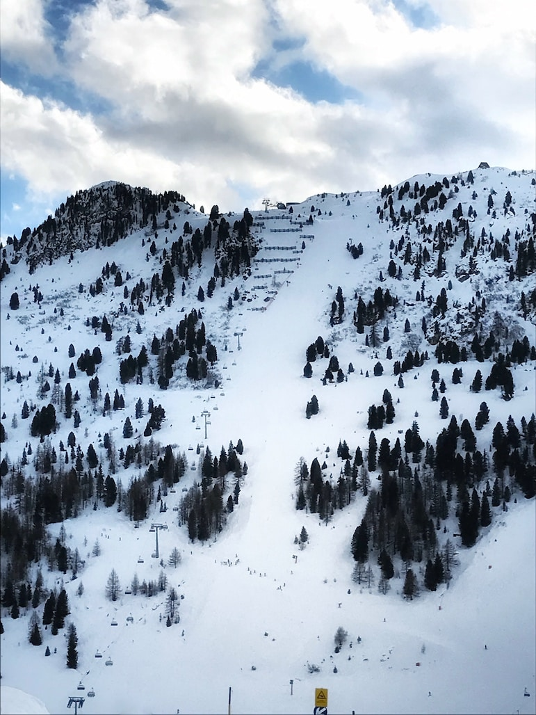 Would you dare to take on the Harakiri in the Zilletal ski resort?