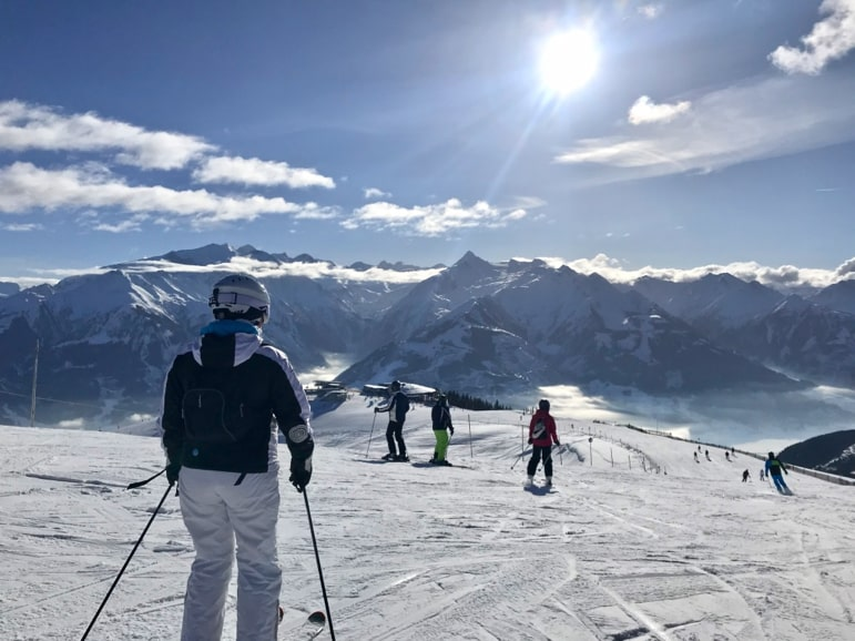 Hitting the slopes on Schmitten, Zell am See-Kaprun