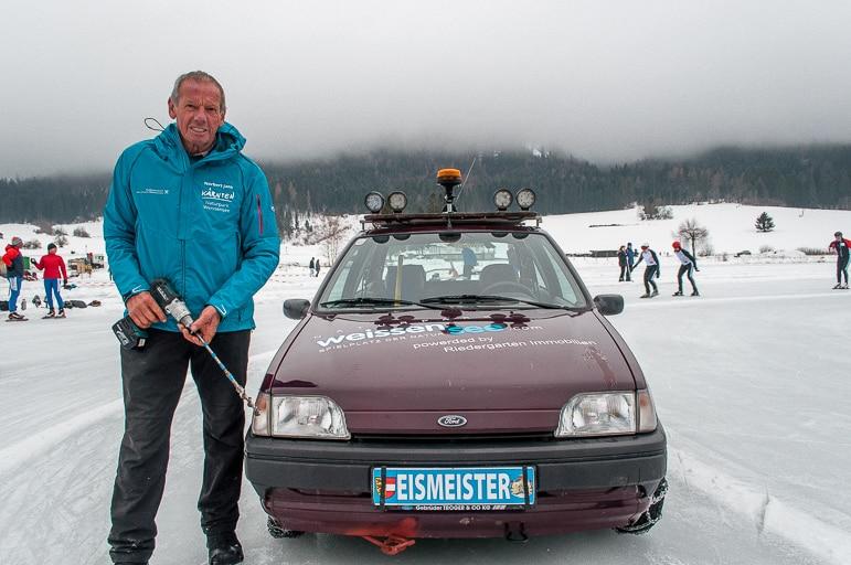Norbert Jank Weissensee's Eismeister