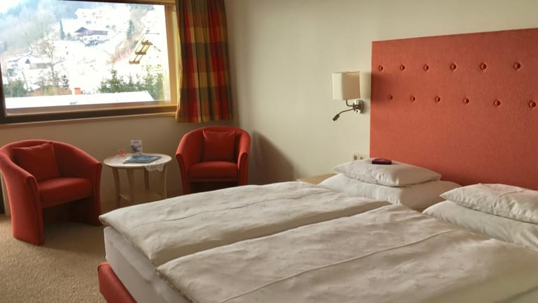 Room at the Sporthotel Alpin in Zell am See-Kaprun