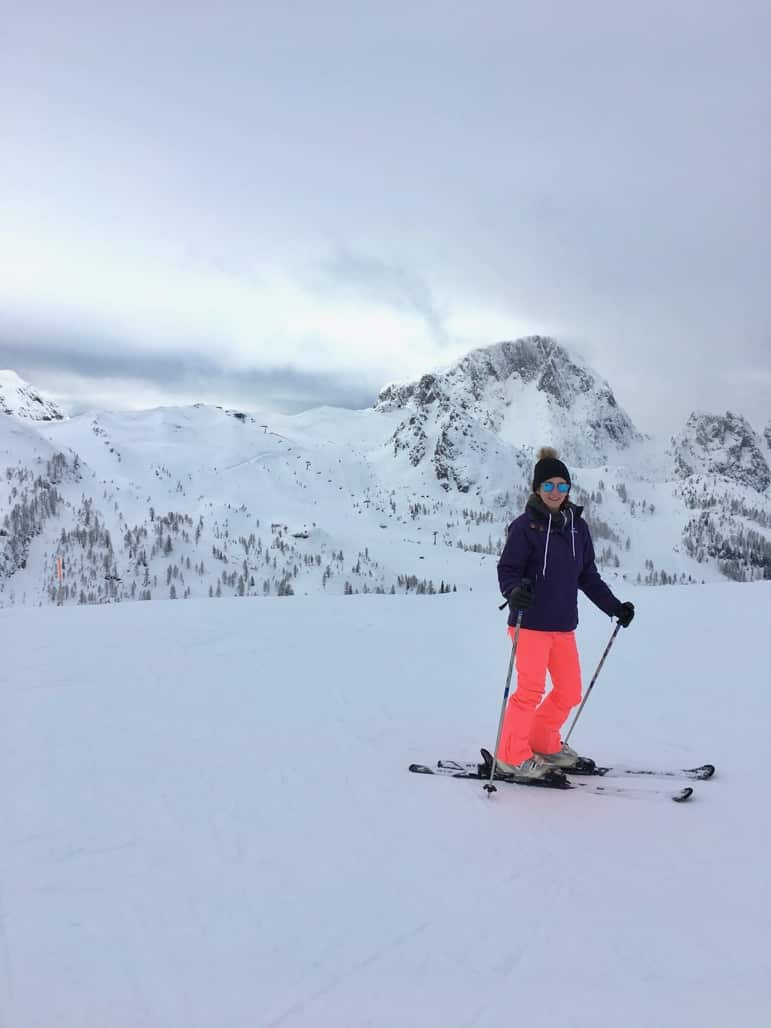 Shelley on the slopes in Carinthia