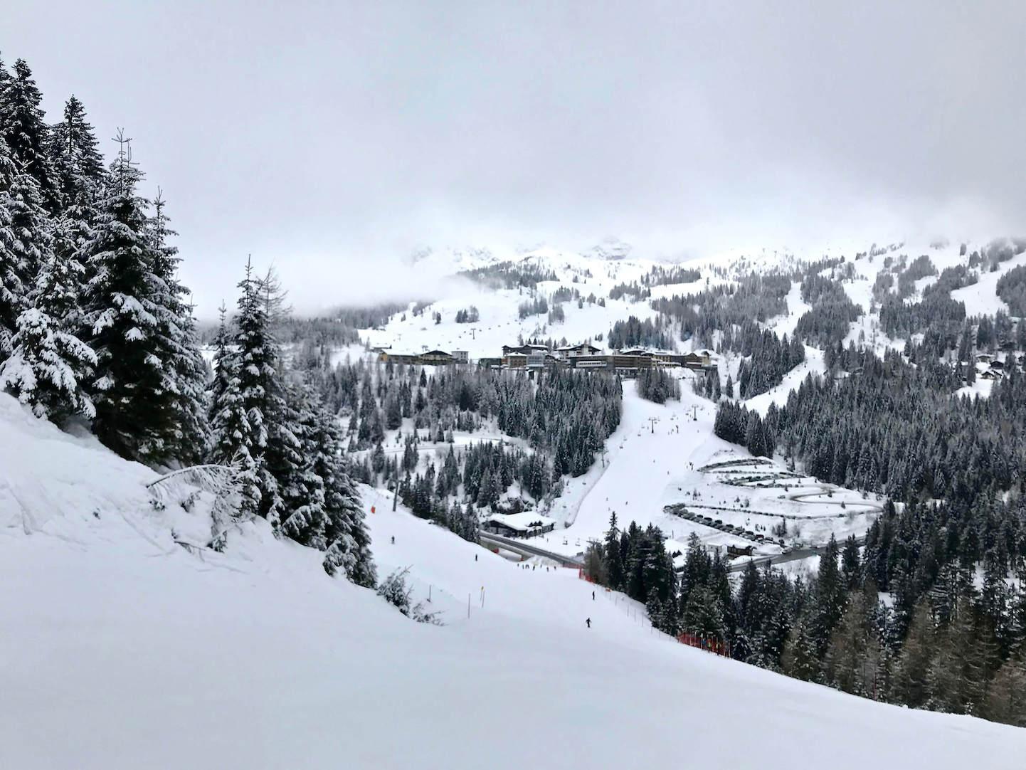 Skiing in Nassfeld, in Austria's Carinthia ski region