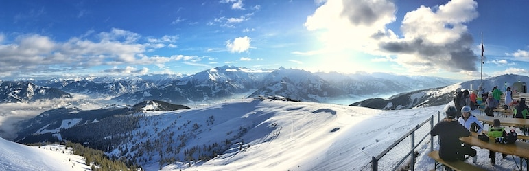 Skiing in Zell am See-Kaprun