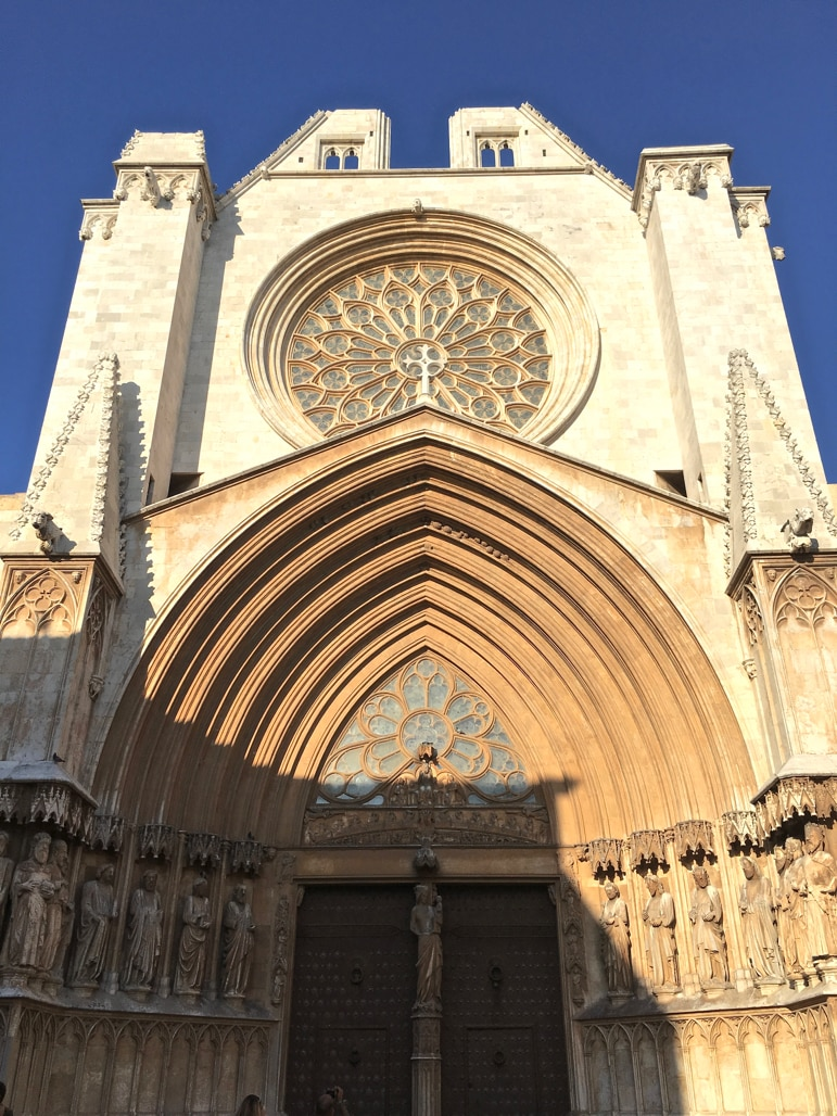 Tarragona's cathedral is on the former site of the Roman Temple of Jupiter