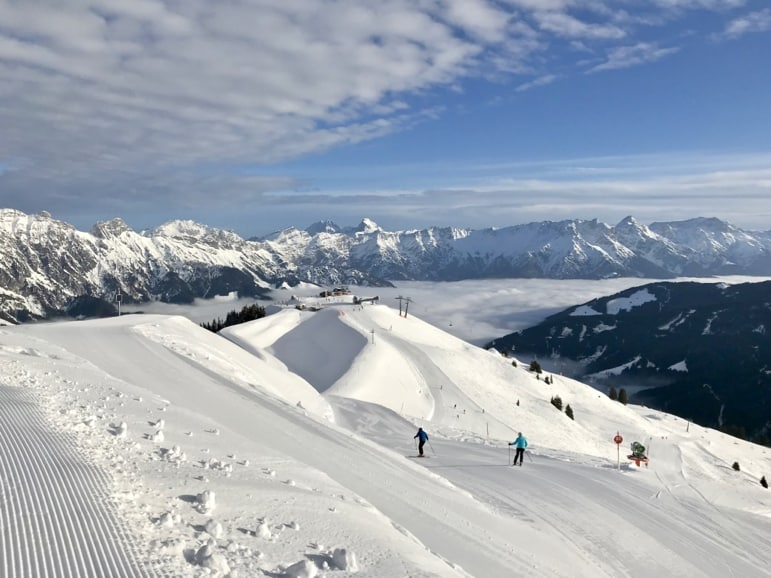 The Skicircus challenge takes in all 270km of this region