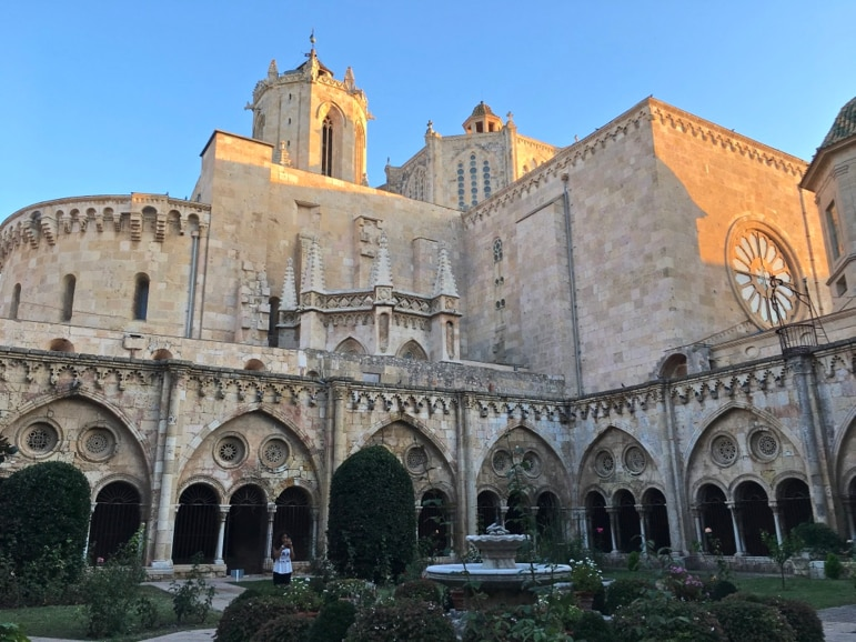 The cloisters within Tarragona Cathedral are a lovely place to contemplate the site's history