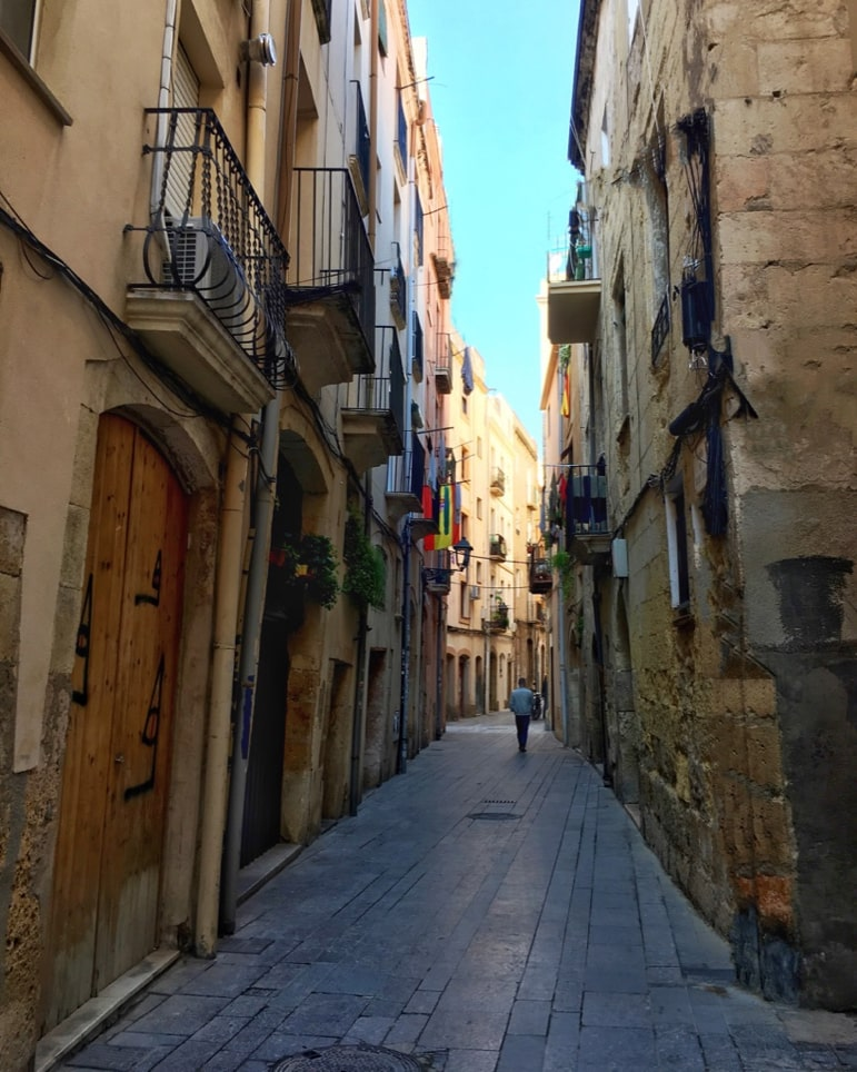 Wandering the back streets is one of the most relaxed things to do in Tarragona