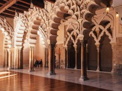 Zaragoza: a city whose Moorish past has merged with the modern