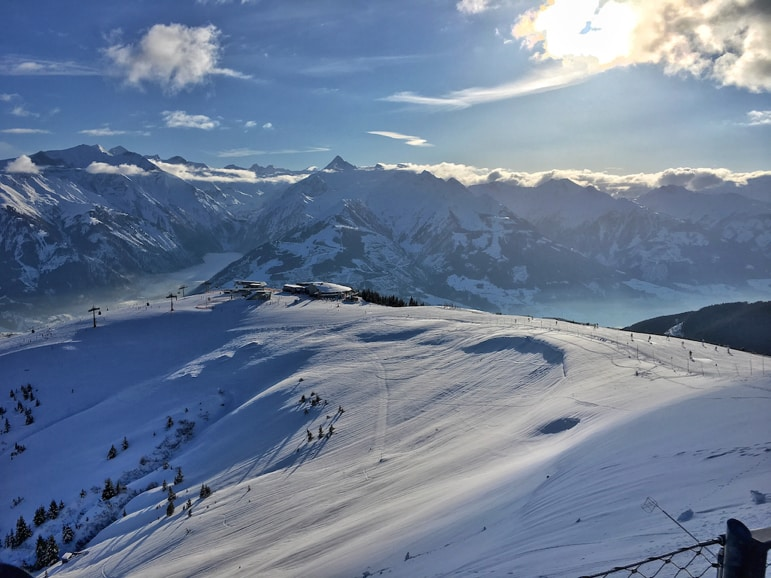 Zell am See resort guide - hitting the slopes on Schmitten