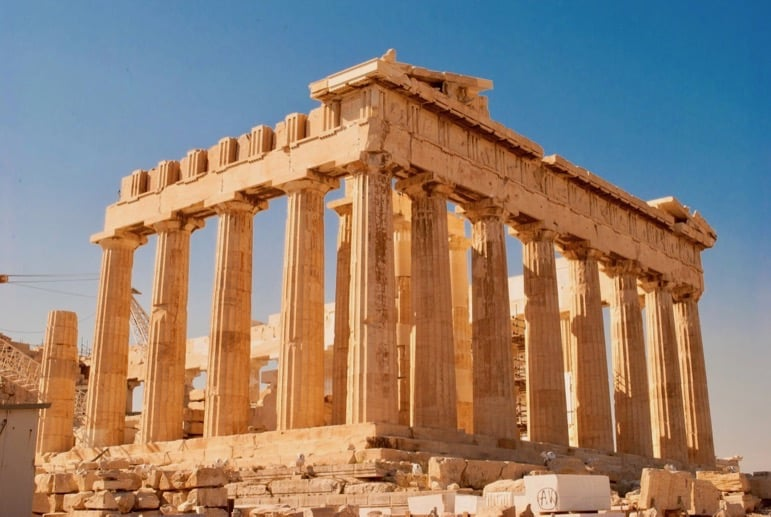 Visit the ruins of the Acropolis