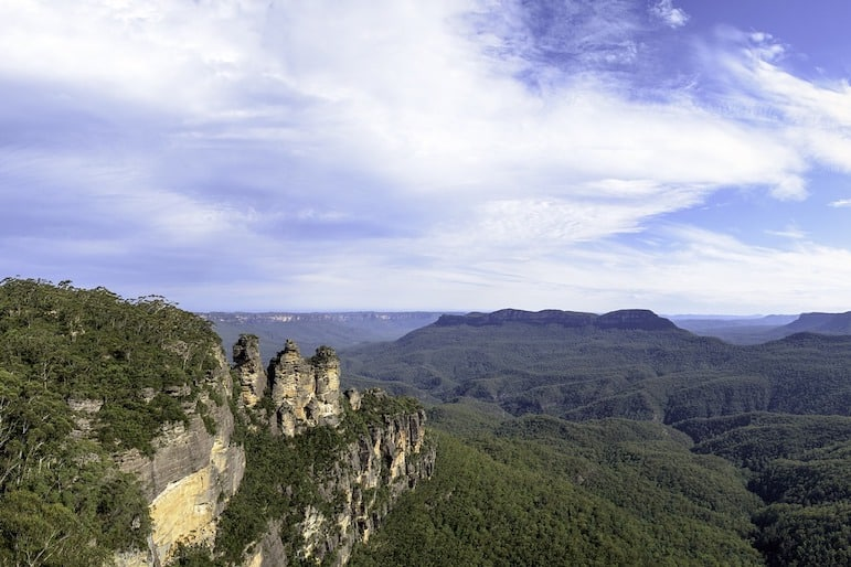 New South Wales is home to some stunning lookout points in the Blue Mountains