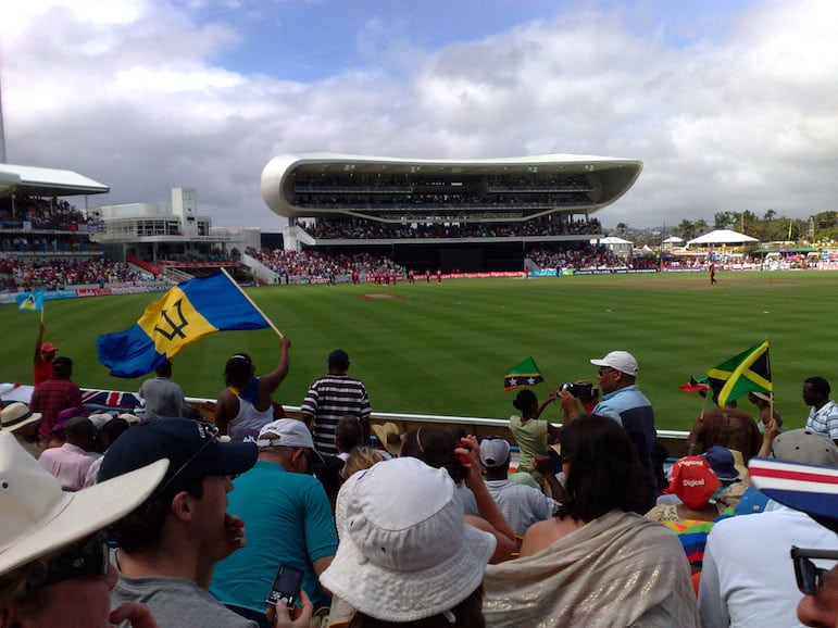 Celebrate the Barbadians love of cricket at Kensington Oval | Pic Tom Hodgkinson
