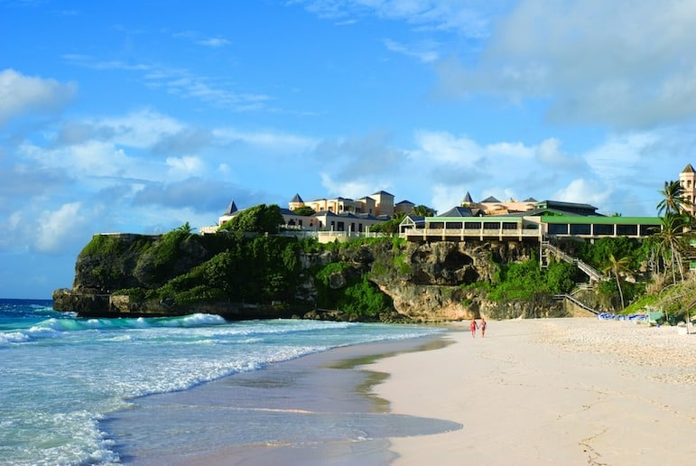 Places to go in Barbados, Crane Beach