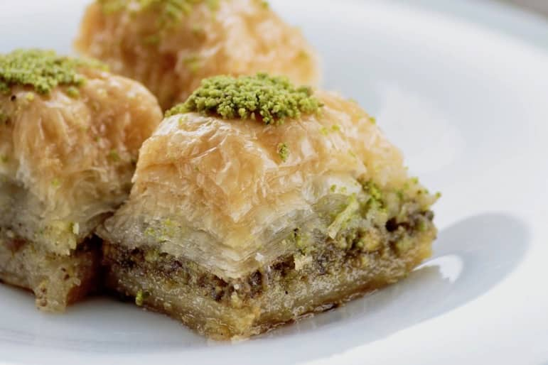 Treat yourself to some delicious Baklava in Athens
