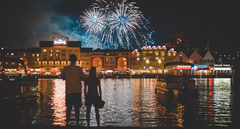 Don't miss the fireworks at Disney's parks