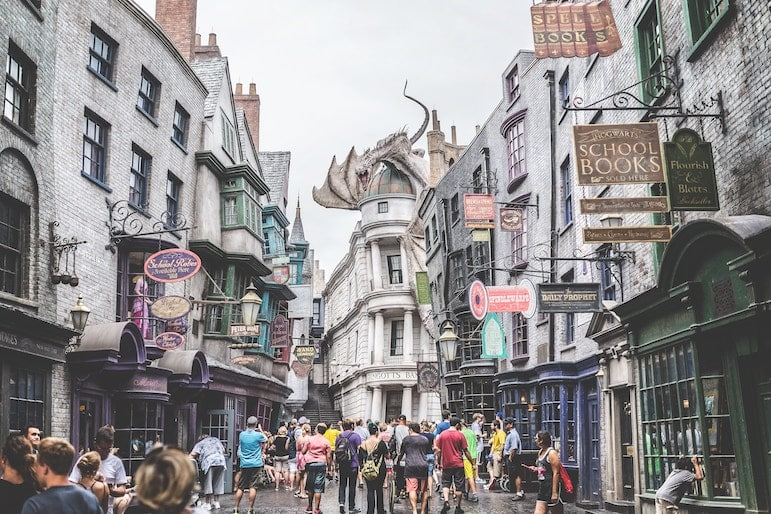 Hit the most popular attractions at the back of the parks such as Harry Potter at Universal Studios | Pic Troy-Jarrell-Unsplash.jpg
