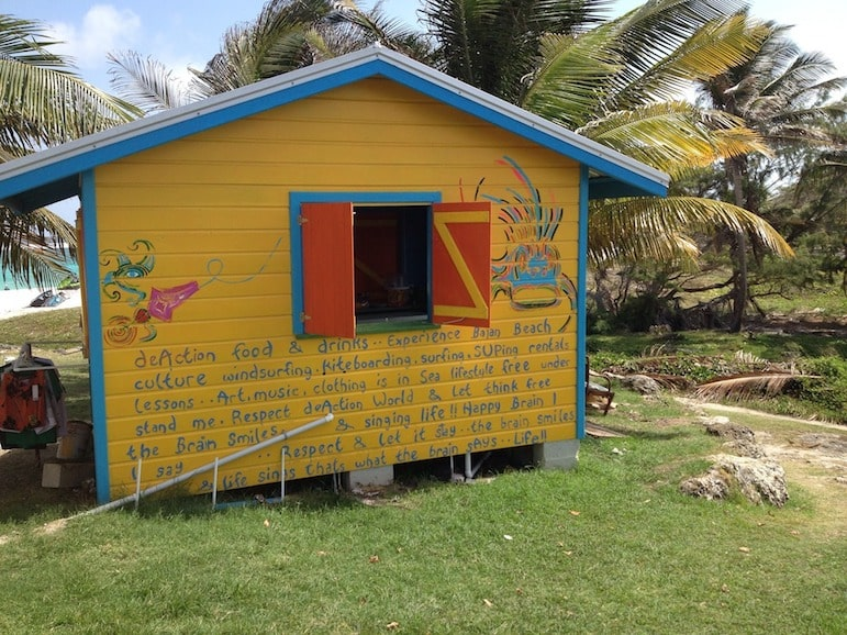 Look out for rum shacks at the roadside or by the beach.
