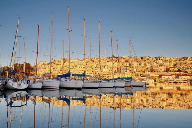 Rafina Port is within walking distance of Ramada Attica Riviera
