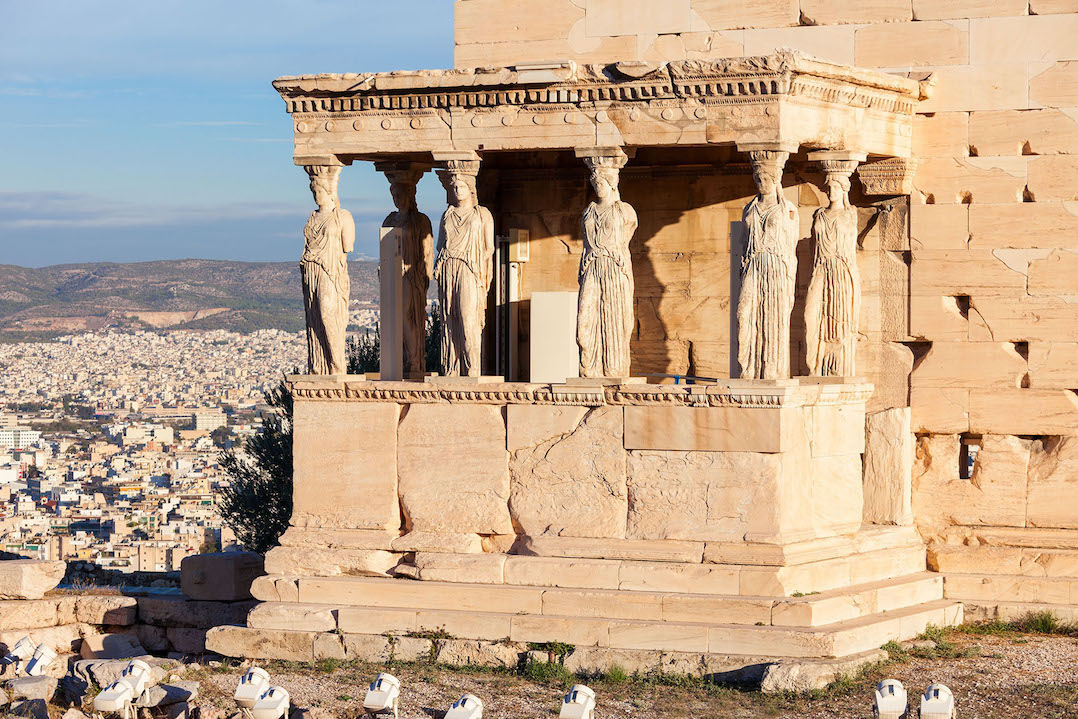 Places to visit in Athens - the Erechtheum temple, Athens