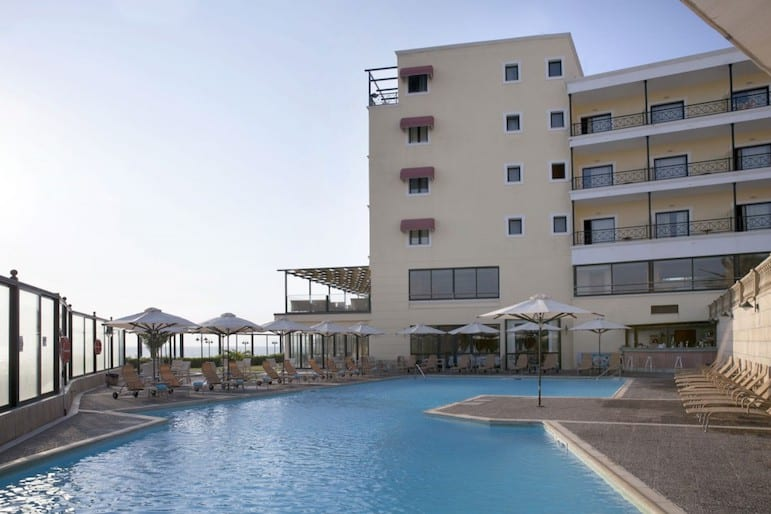 Soak up the sun by the pool at Ramada Attica Riviera