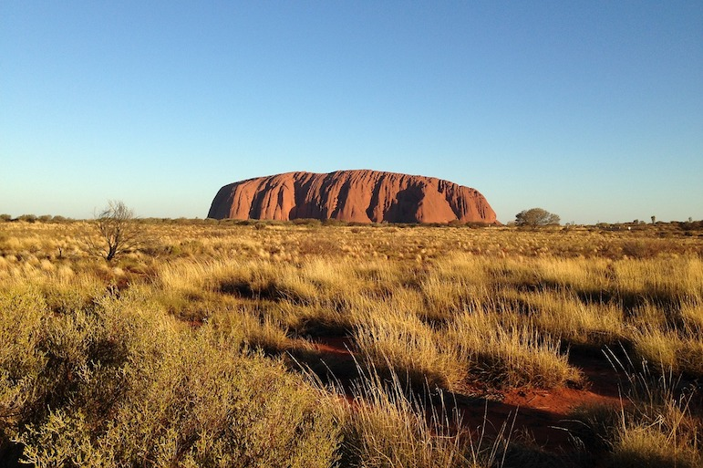 Uluru - one of Australia's iconic natural wonders